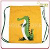 De promotie Zak Drawstring van de Polyester van het Patroon van de Krokodil Nylon