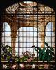 Стекло Windows церков цвета запятнанное стеклом декоративное