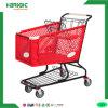 Supermarkt-PlastikEinkaufswagen-Laufkatze