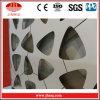 Panneaux perforés irréguliers en aluminium de façade de mur rideau de construction