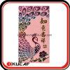Pacote vermelho de impressão personalizado de luxo personalizado