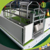 Suínos galvanizados Strengh elevados que pairem para a caixa do animal de estimação do equipamento de exploração agrícola