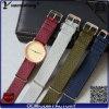 La più nuova Perlon fascia di Perlon del Wristband dell'orologio del cinturino della cinghia di Yxl-102 progetta il cinturino per il cliente di vigilanza all'ingrosso delle donne degli uomini dell'OEM