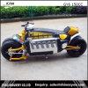 Bici Pocket eléctrica de la bici 1500W de la hacha de guerra del regate para competir con
