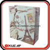 Kundenspezifisches White Paper Bag mit Handle