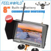Feelworld 8  Geen Blue Screen Fpr Montor voor Unmanned Drone met 5.8GHz 32CH Diversity Receivers HDMI Inputs