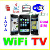WIFI TV Movil Celulares二重SIM、ジャワF003