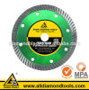 Cutting Granite를 위한 지속적인 터보 Rim Thin Diamond Saw Blades