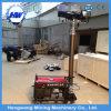 De openlucht Mobiele Lichte Toren van de Noodsituatie met Diesel Generator