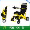 Fácil carreg o peso leve que dobra a cadeira de rodas elétrica