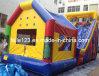 Diapositiva inflable comercial 2013 con la casa de salto de la despedida