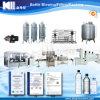Agua mineral en botella de llavero/cadena de producción pura del agua