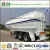 반 60cbm 세 배 차축 석유 탱크 트럭 트레일러