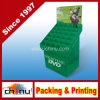 DVD VCD CD Paper Corrugated -ボードPallet Display (6212)