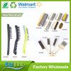 Spazzola di filo di acciaio curva economia della maniglia con la maniglia di legno o della plastica