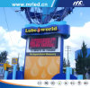 Mrled P10mm (Super Flux) Outdoor gieten-matrijs-Casting LED Display Sign Board met IP65/IP54 (DIP5454)
