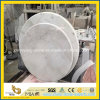 Dinner 룸을%s 이탈리아 Bianco Carrara White Round Table Top
