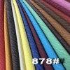 Cuir synthétique de relief doucement lisse d'unité centrale de meubles de grain (Hongjiu-878#)