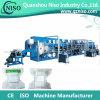 Equipo de producción semiautomático del pañal del bebé de la alta calidad con la certificación del CE