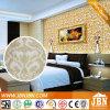텔레비젼 벽 그림 황금 장식무늬가 든 유리 제품 모자이크 (P815001)