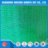 red de seguridad de construcción del verde de la red de seguridad de construcción del andamio del HDPE de los 2*50m