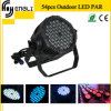 Professionnel 54*3W RGBW DEL PAR pour Stage Disco Lighting