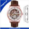Placage à l'or d'IP Rose avec la montre automatique de mouvement pour les hommes