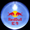 LED Flashing Light Name Badge mit Logo Printed (3569)