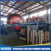 128 portafili Horizontal Wire Braiding Machine per Metal Hose