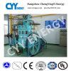 Tres compresor de aire del pistón de la refrigeración por agua de la lubricación de la etapa de la fila cinco