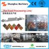 Línea automática completa de la producción alimentaria del perro que hace la máquina