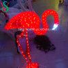24V de rode Flamingo van Kerstmis steekt de Decoratieve Verlichting van de Vakantie van de Lichten van het Motief aan