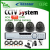 4 Kanal Indoor Camera DVR Kits für Home Safety (BE-9604H4IB)