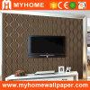 Papier de mur neuf de vinyle de PVC du lancement 2016 (MK830507)