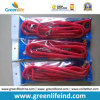 10m Lobster Clasp Hook Red Flexible Fishing Safety Coiled Lanyard
