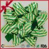2016 het enig-Onder ogen gezien Poly Duidelijke die Lint van de Decoratie van het Lint van de Boog van de Ster voor de Decoratie van de Kerstboom wordt geplaatst