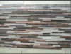 Mosaic di vetro Tile Decoration con Aluminum (DM-0259)