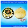 Медаль металла спорта малого квадратного цвета заполняя с тесемкой
