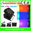 La IGUALDAD recargable del LED puede encenderse con con pilas para el disco