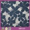Vente en gros africaine de tissu de lacet de Corchet de coton français