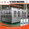 Завод 3in1 автоматической воды разливая по бутылкам в машине завалки