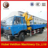 5 tonnellate -6.3 Ton Dongfeng Knukled Boom Truck con Crane