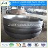 Tête d'acier du carbone/extrémité ellipsoïdes personnalisées d'assiette pour des garnitures de pipe