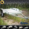 Twee de Wiel Gegalvaniseerde Aanhangwagen van de Installatie met de Kooi van het Staal (swt-PT96)