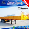 3 차축 Side Board Transporting Bulk Cargo Semi Trailer