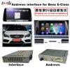 (12-14) Navegador androide del GPS del interfaz video de los multimedia del tacto de la mejora del coche para el Benz E, 1080P/WiFi/Mirrorlink