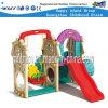 Os miúdos deslizam o teatro plástico ao ar livre de Playsets para a escola preliminar (HF-20403)