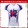 Football americano bianco Jersey (ELTSJI-39) del Mens su ordinazione di marchio