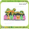 Gecko respectueux de l'environnement personnalisé des Bahamas de souvenir d'aimants de réfrigérateur de cadeaux promotionnels (RC- BS)