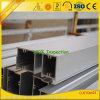 Profils en aluminium d'extrusion d'OIN 9001 Anozided pour le guichet et la porte
